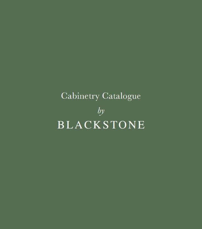 Blackstone Catalogue front